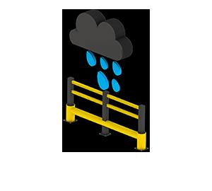 Les avantages des barrières amortissantes - Pas de corrosion - Barriere-flexible.fr
