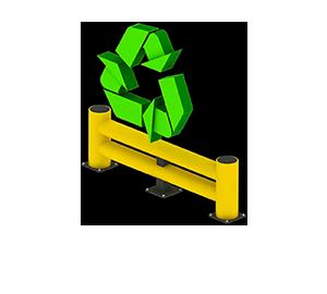 Les avantages des barrières amortissantes - Recyclable et faible empreinte écologique - Barriere-flexible.fr
