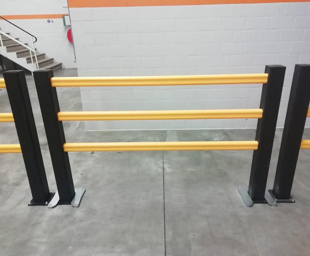 Barrière de protection flexible - Réalisation (1) - Barriereflexible